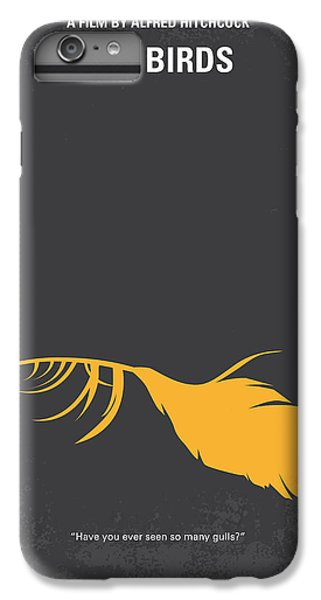 Seagull iPhone 6s Plus Case - No110 My Birds Movie Poster by Chungkong Art
