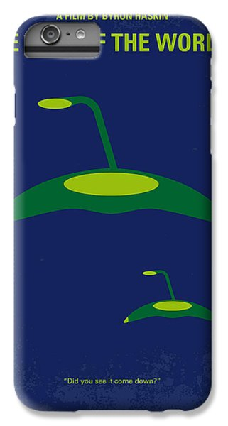 Aliens iPhone 6s Plus Case - No118 My War Of The Worlds Minimal Movie Poster by Chungkong Art