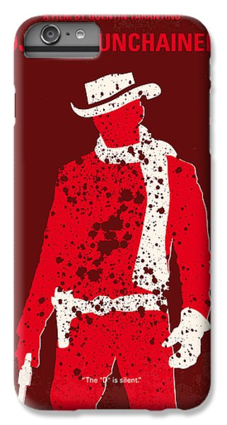 Time iPhone 6s Plus Case - No184 My Django Unchained Minimal Movie Poster by Chungkong Art