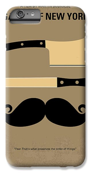 Time iPhone 6s Plus Case - No195 My Gangs Of New York Minimal Movie Poster by Chungkong Art