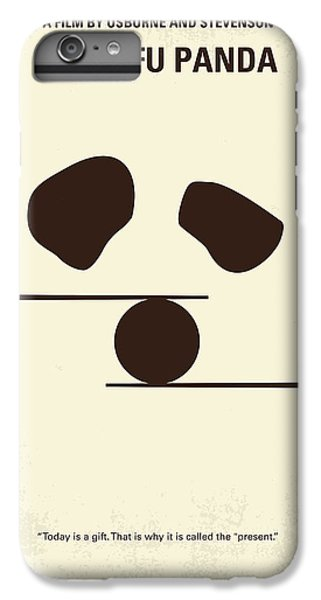 Dragon iPhone 6s Plus Case - No227 My Kung Fu Panda Minimal Movie Poster by Chungkong Art