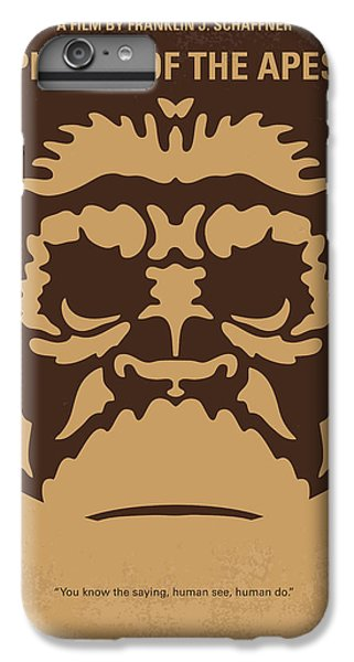 Ape iPhone 6s Plus Case - No270 My Planet Of The Apes Minimal Movie Poster by Chungkong Art