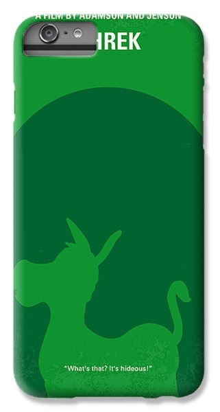 Fairy iPhone 6s Plus Case - No280 My Shrek Minimal Movie Poster by Chungkong Art