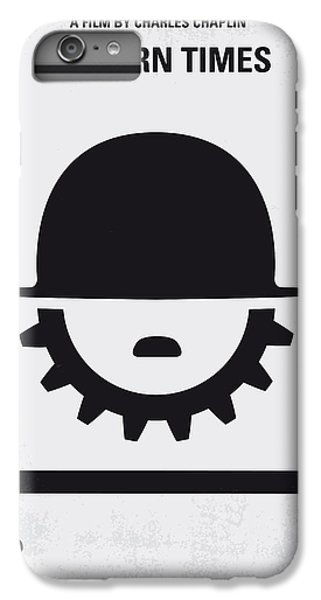 Time iPhone 6s Plus Case - No325 My Modern Times Minimal Movie Poster by Chungkong Art
