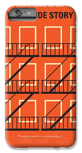 No387 My West Side Story Minimal Movie Poster IPhone 6s Plus Case by Chungkong Art
