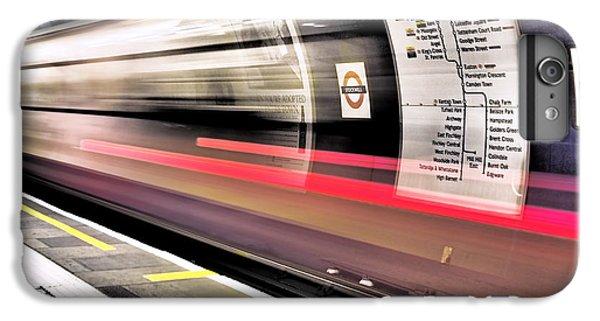 Northbound Underground IPhone 6s Plus Case by Rona Black