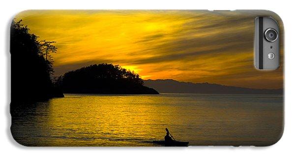 Ocean Sunset At Rosario Strait IPhone 6s Plus Case