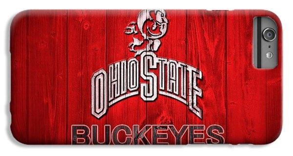 Scarlet iPhone 6s Plus Case - Ohio State Buckeyes Barn Door Vignette by Dan Sproul