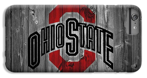 Scarlet iPhone 6s Plus Case - Ohio State University by Dan Sproul