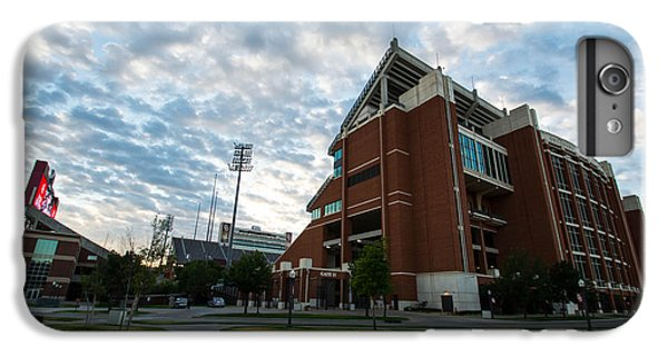 Oklahoma University iPhone 6s Plus Case - Oklahoma Memorial Stadium by Nathan Hillis