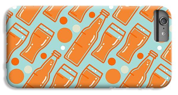 Bar iPhone 6s Plus Case - Oktoberfest Seamless Pattern. Beer by Barsrsind