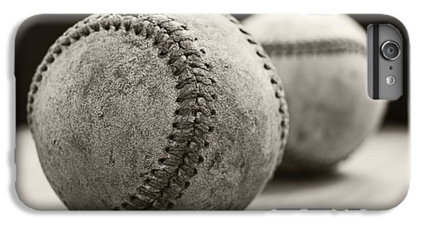 Old Baseballs IPhone 6s Plus Case by Edward Fielding