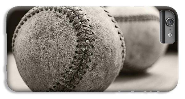 Old Baseballs IPhone 6s Plus Case by Edward Fielding