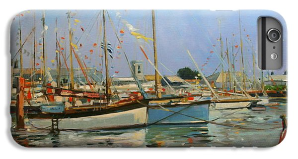 Bunting iPhone 6s Plus Case - Old Gaffers  Yarmouth  Isle Of Wight by Jennifer Wright