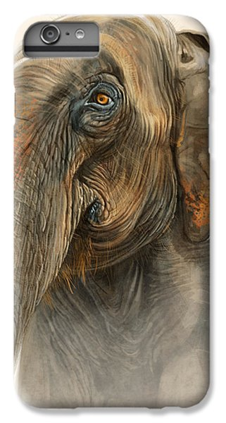 Old Lady Of Nepal 2 IPhone 6s Plus Case by Aaron Blaise
