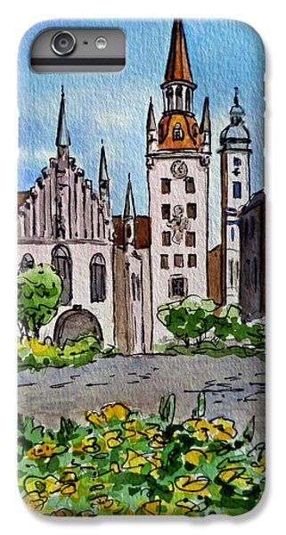 Old Town Hall Munich Germany IPhone 6s Plus Case