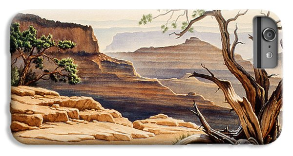 Grand Canyon iPhone 6s Plus Case - Old Tree At The Canyon by Paul Krapf