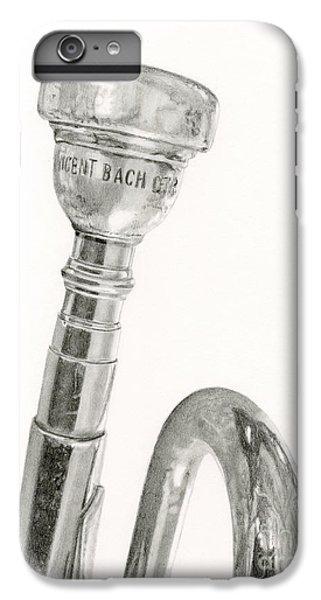 Trumpet iPhone 6s Plus Case - Old Trumpet by Sarah Batalka