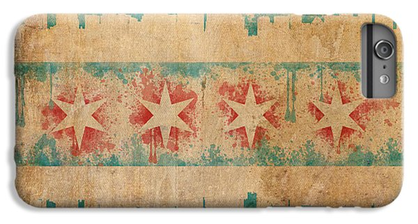 Old World Chicago Flag IPhone 6s Plus Case