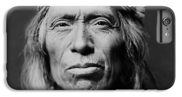 Portraits iPhone 6s Plus Case - Old Zuni Man Circa 1903 by Aged Pixel