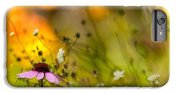 Flower Fairy iPhone 6s Plus Case - Once Upon A Time There Lived A Flower by Mary Amerman