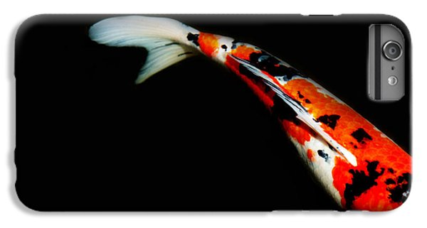 Goldfish iPhone 6s Plus Case - Orange And Black Koi by Rebecca Cozart