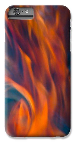 Orange Fire IPhone 6s Plus Case