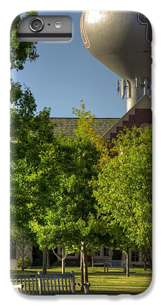 Oklahoma University iPhone 6s Plus Case - Ou Campus by Ricky Barnard