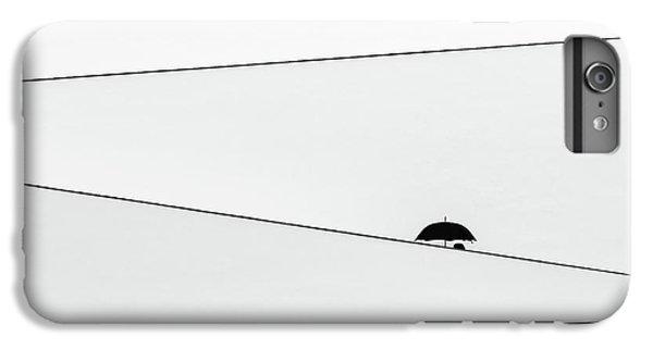 Umbrella iPhone 6s Plus Case - Over There, It's Raining by Fernando Correia Da