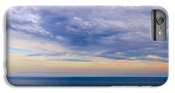 Ocean Sunset iPhone 6s Plus Case - Panorama Of Sky Over Water by Elena Elisseeva