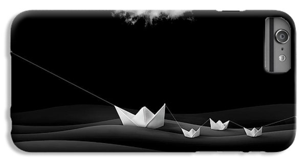 Dove iPhone 6s Plus Case - Paper Boats by Sulaiman Almawash