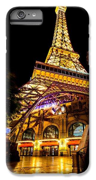 Eiffel Tower iPhone 6s Plus Case - Paris Under The Tower by Az Jackson
