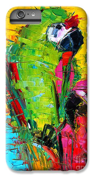 Parrot iPhone 6s Plus Case - Parrot Lovers by Mona Edulesco
