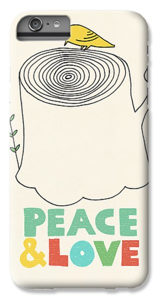 Birds iPhone 6s Plus Case - Peace And Love by Eric Fan