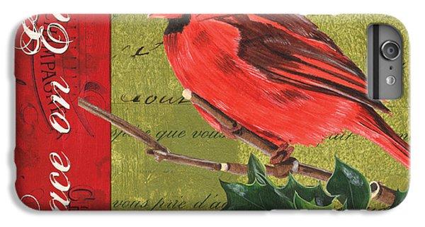 Cardinal iPhone 6s Plus Case - Peace On Earth 2 by Debbie DeWitt
