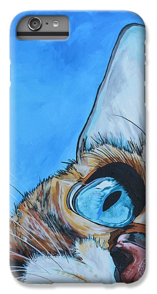 Cat iPhone 6s Plus Case - Peek A Boo by Patti Schermerhorn