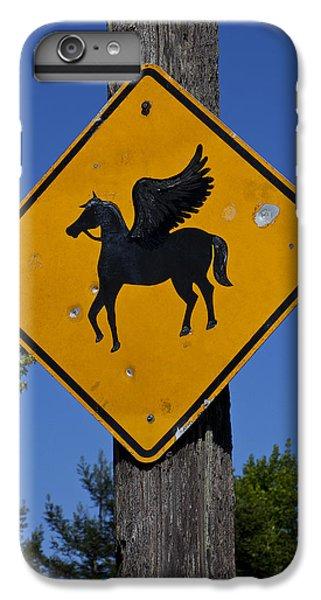 Pegasus Road Sign IPhone 6s Plus Case