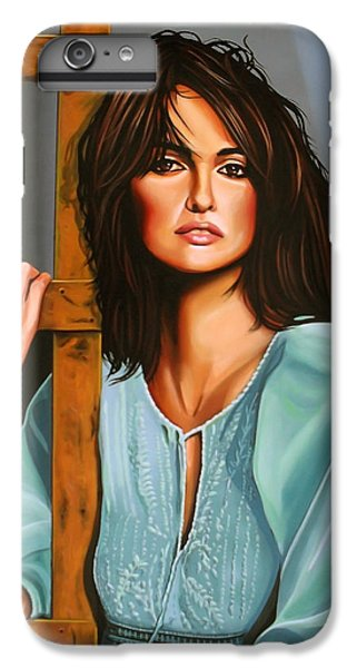 Penelope Cruz IPhone 6s Plus Case by Paul Meijering
