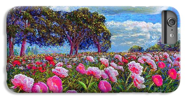 Impressionism iPhone 6s Plus Case - Peony Heaven by Jane Small