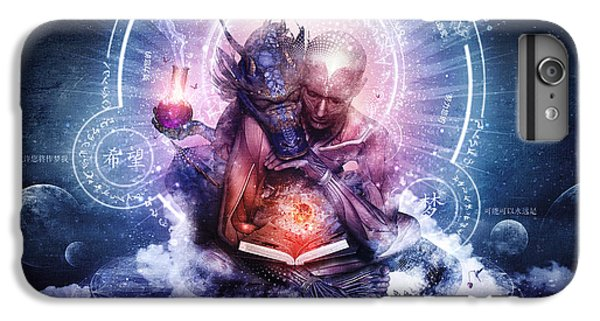 Dragon iPhone 6s Plus Case - Perhaps The Dreams Are Of Soulmates by Cameron Gray