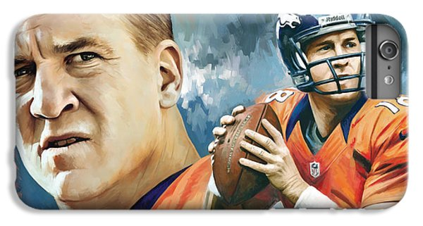 Peyton Manning Artwork IPhone 6s Plus Case
