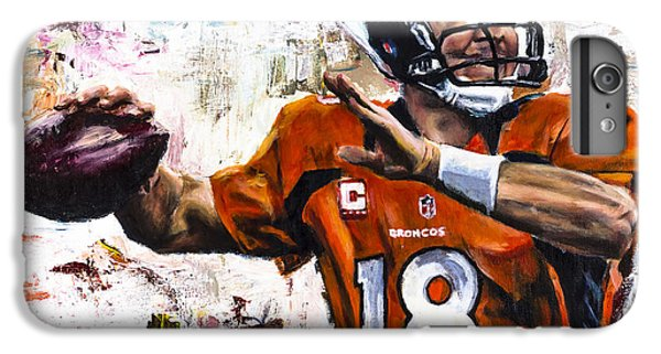 Peyton Manning IPhone 6s Plus Case by Mark Courage