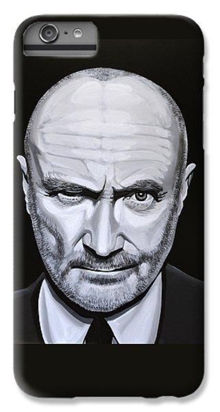 Trumpet iPhone 6s Plus Case - Phil Collins by Paul Meijering