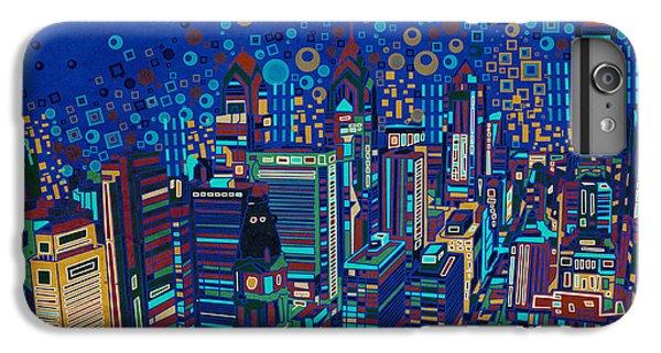 Philadelphia Panorama Pop Art 2 IPhone 6s Plus Case