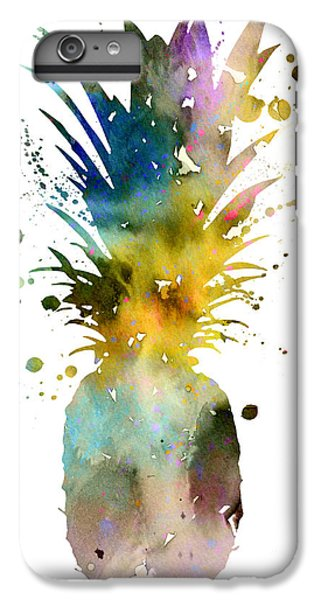 Pineapple 2 IPhone 6s Plus Case by Watercolor Girl