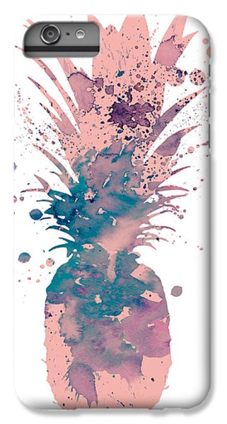 Pineapple 3 IPhone 6s Plus Case by Watercolor Girl