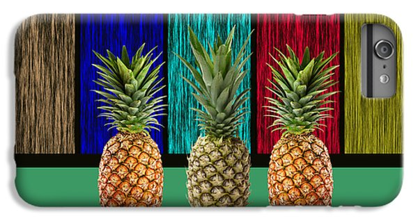 Pineapples IPhone 6s Plus Case by Marvin Blaine