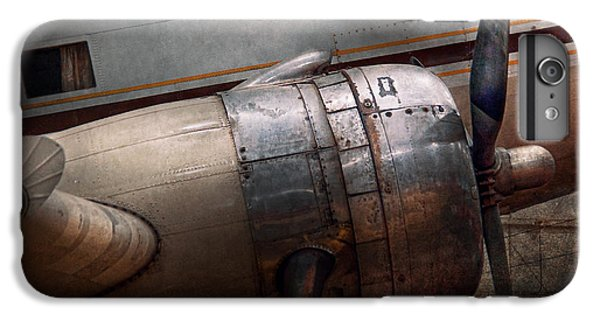 Plane - A Little Rough Around The Edges IPhone 6s Plus Case by Mike Savad