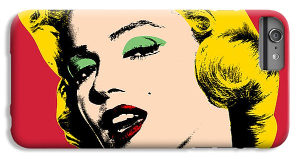 Pop Art IPhone 6s Plus Case by Mark Ashkenazi
