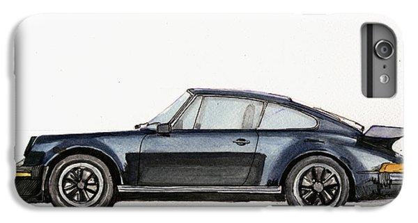 Car iPhone 6s Plus Case - Porsche 911 930 Turbo by Juan  Bosco